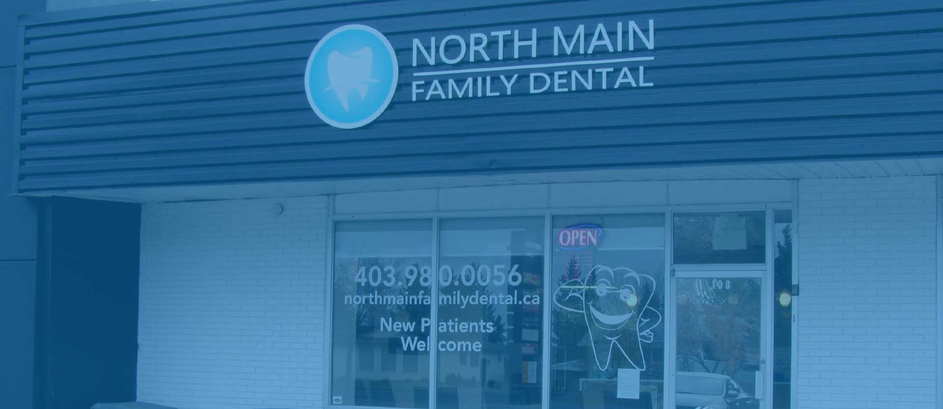 Clinic Entrance   North Main Family Dental   Family and General Dentist   Airdrie