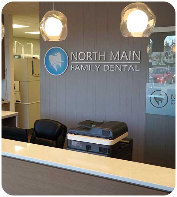 Welcoming Reception Area   North Main Family Dental   Family and General Dentist   Airdrie