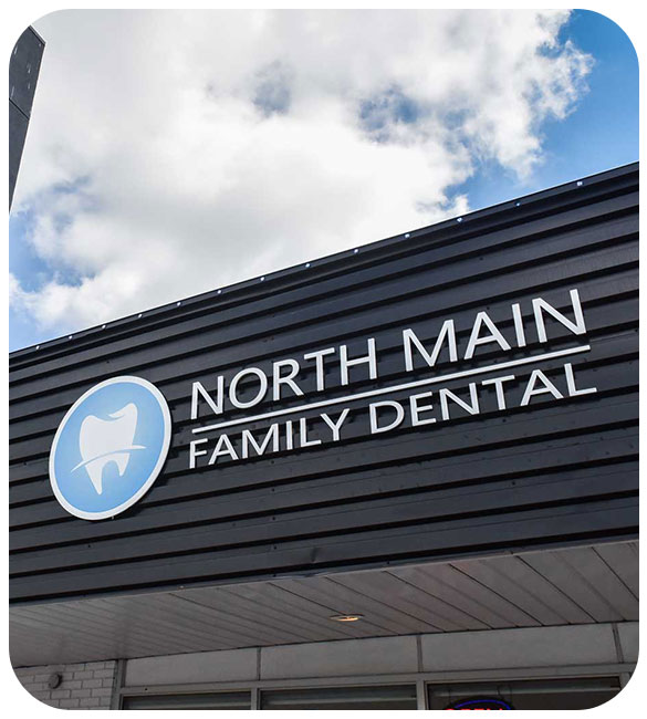 Building Entrance | North Main Family Dental | Family and General Dentist | Airdrie