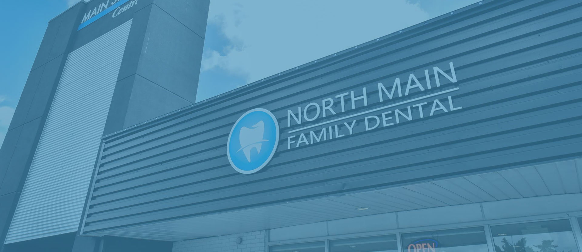 Clinic Entrance | North Main Family Dental | Family and General Dentist | Airdrie